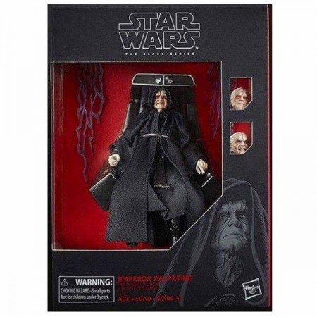 Star Wars Black Series Deluxe Emperor Palpatine y Throne