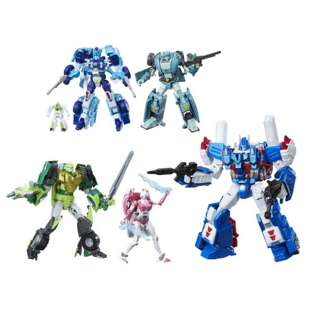 Transformadores Autobot platino héroes 5 Pack