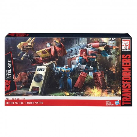 Transformers Platinum Intel Ops Blaster & Perceptor