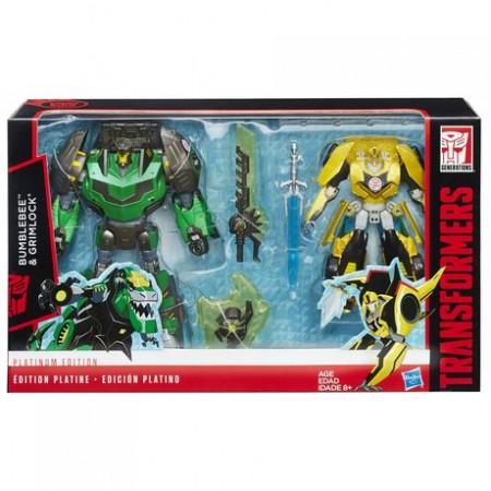 Transformers Platinum RID Grimlock & Bumblebee 2 Pack