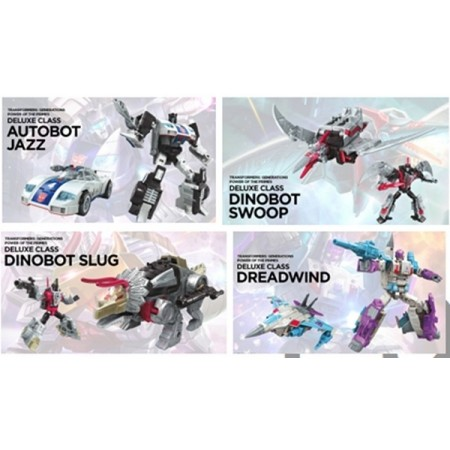 Transformers Power of the Primes Deluxe Set of 4