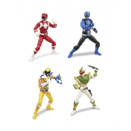 Power Rangers Lightning Collection Wave 3 Set de 4