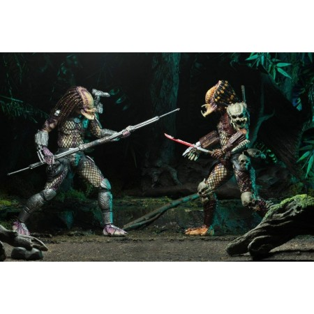 NECA Predator Bad Blood vs Enforcer 2 Pack