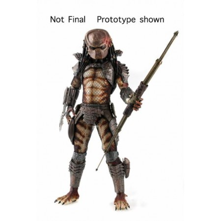 NECA: PREDATOR 2: CITY HUNTER PREDATOR 1:4 SCALE ACTION FIGURE WITH LED LIGHTS