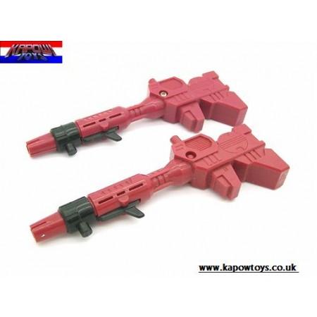 Transformers G1 Autobot Base Metroplex Guns Set of 2