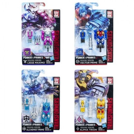 Transformers Power Of The Primes Prime Masters Wave 2 Set of 4