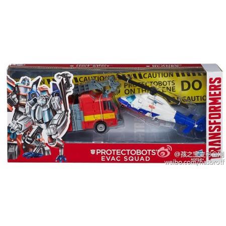Transformers Protectobots Evac Squad 2 Pack