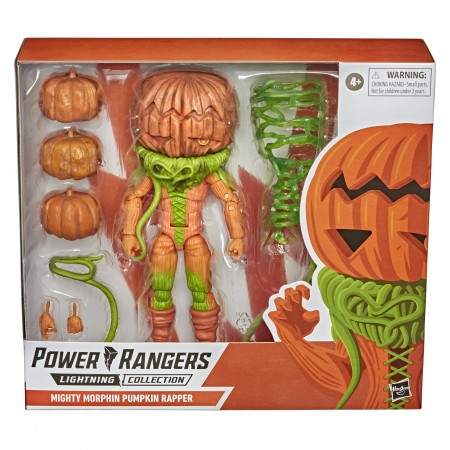 Power Rangers Deluxe Pumpkin Rapper