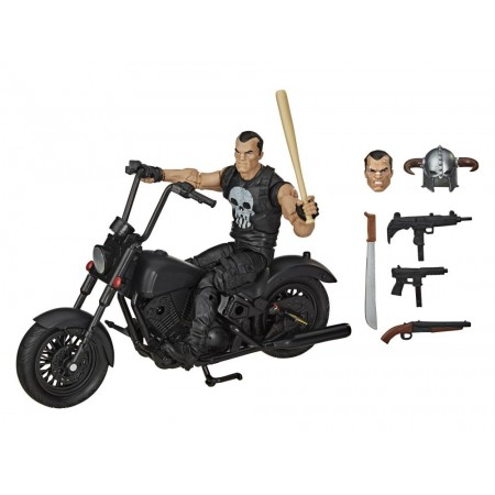 Marvel Legends Punisher Figura de Acción y Vehículo