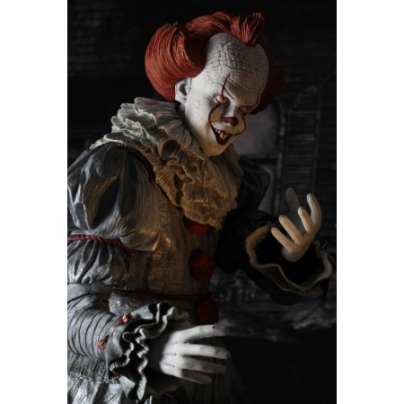 IT 2017 Quarter Scale Pennywise NECA Action Figure