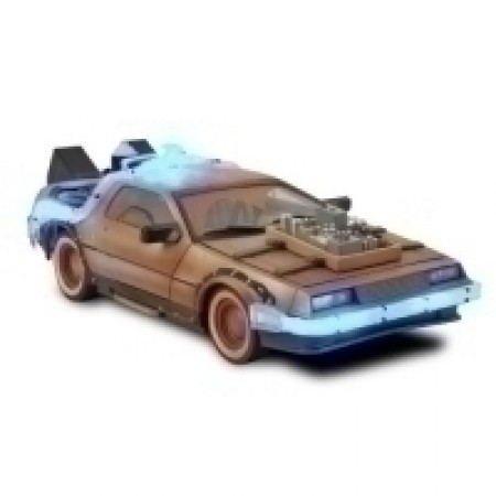 Back to the Future Part III Rail Ready Delorean Time Machine