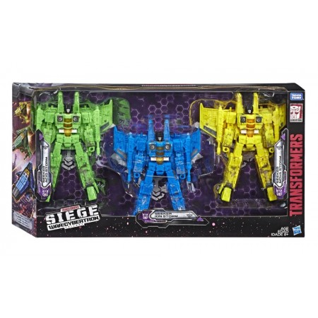 Transformers War For Cybertron Siege Rainmaker 3 Pack