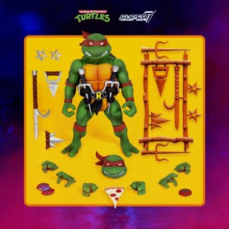 Super7 Teenage Mutant Ninja Turtles Raphael ( V2 )