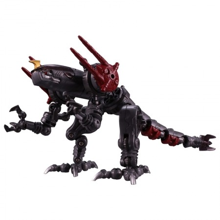 Diaclone DA-34 Waruder Raider Rapto Head ( Dark Cathode ) Mall Excl
