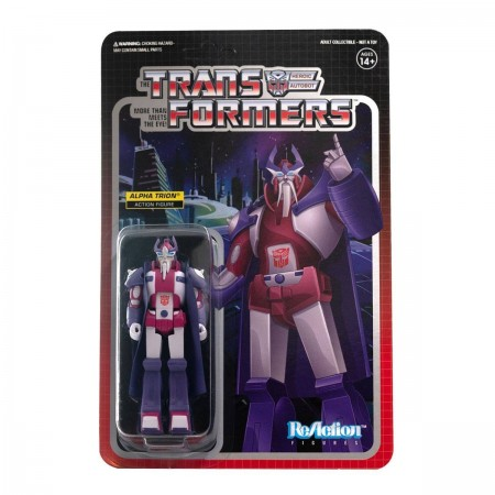 Transformers ReAction Alpha Trion Wave 2 Action Figure