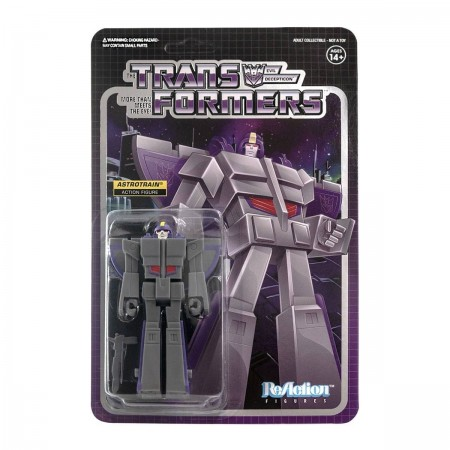 Transformers ReAction Astrotrain Wave 2 Action Figure