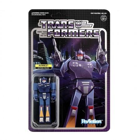 Transformers ReAction Rumble Wave 2 Action Figure