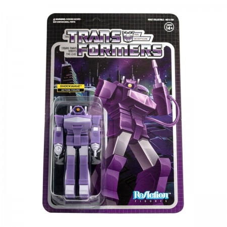 Transformers ReAction Shockwave Wave 2 Action Figure