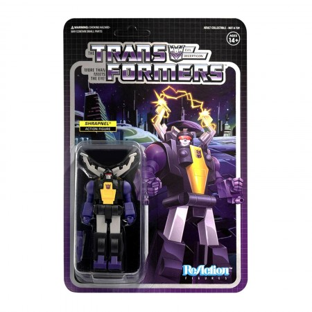 Figura de acción de Transformers ReAction Shrapnel Wave 2
