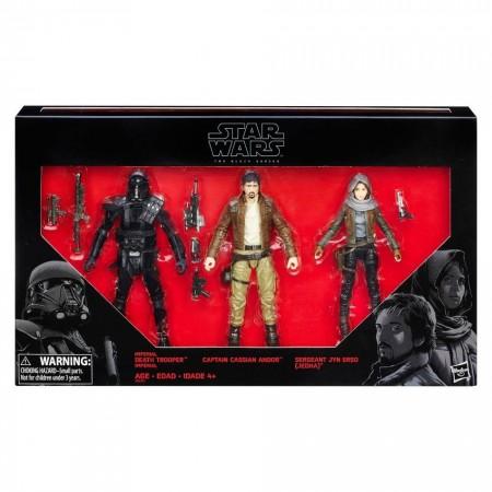 Star Wars Black Series Rogue One Rebels Vs Imperials 3 Pack