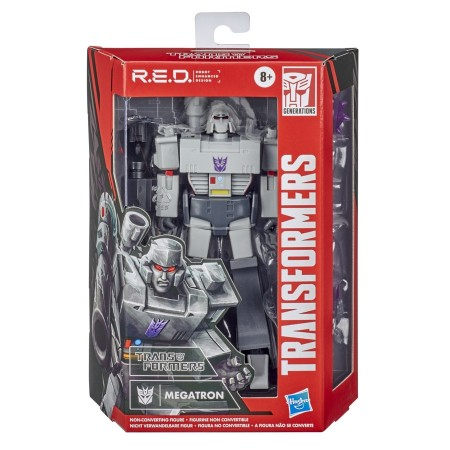 Transformers R.E.D G1 Animated Megatron 6 Inch Action Figure