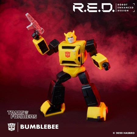 TRANSFORMERS R.E.D G1 ANIMATED BUMBLEBEE 6 INCH ACTION FIGURE