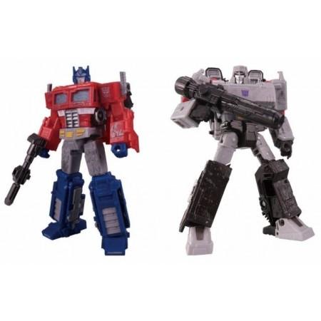 Transformers guerra por Cybertron sitio Voyager Optimus y Megatron