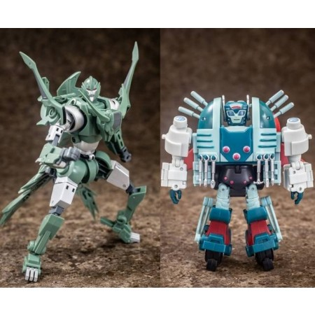 Mastermind Creations Reformatted R-38 Foxwire & NI 2 Pack Reissue