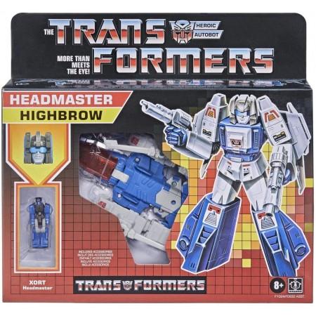 Transformers Retro Headmaster Highbrow and Xort