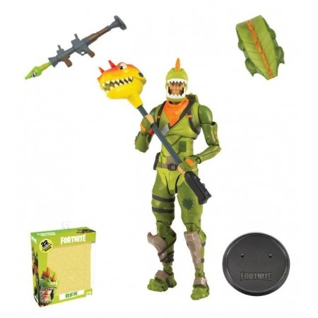 McFarlane Toys Fornite Rex Action Figure