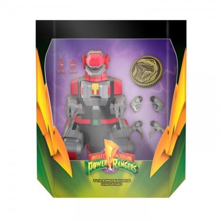 Super7 Mighty Morphin Power Rangers Tyrannosaurus Dinozord Ultimates Action Figure