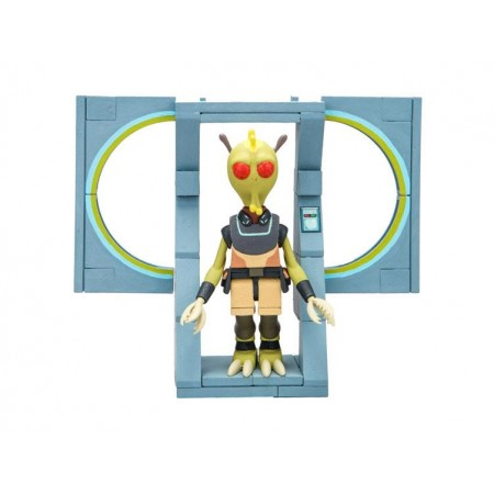 Rick and Morty Micro Construction Kit - The Discreet Assassin