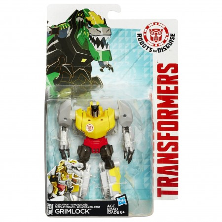Transformers Robots In Disguise Gold Armour Grimlock