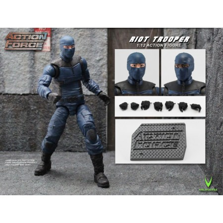 Action Force Riot Trooper Action Figure