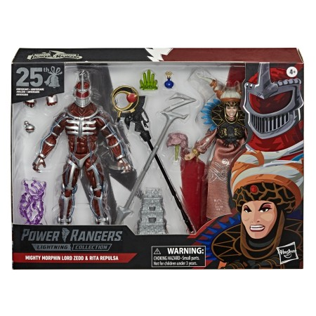 Power Rangers Lightning Collection Lord Zedd & Rita Repulsa 2 Pack