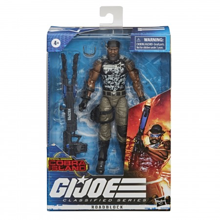 G.I Joe Classified Roadblock V2 6 Inch Action Figure