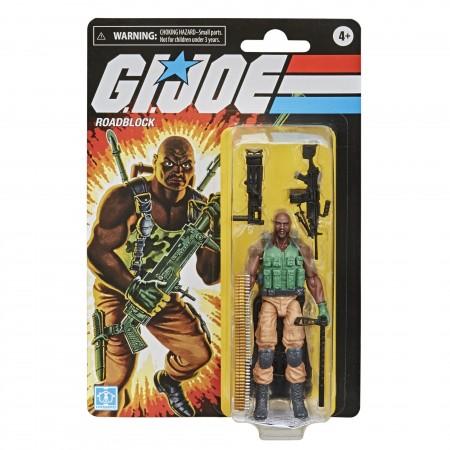 G.I. Joe Retro Roadblock 3.75 Inch Action Figure