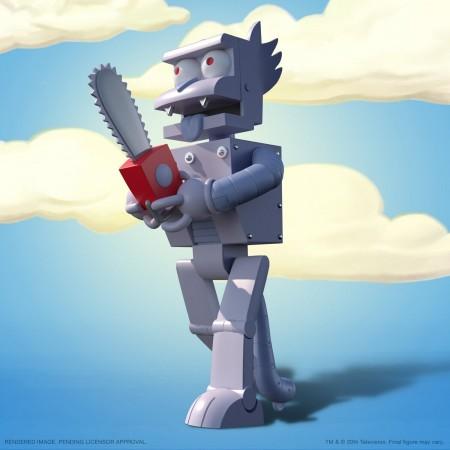 Super7 The Simpsons Ultimates Wave 1 Robot Scratchy Action Figure