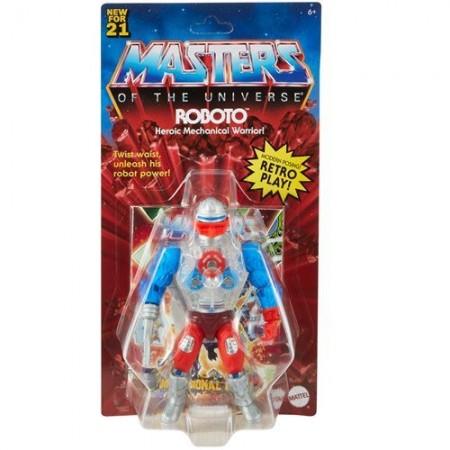 Maestros del Universo origina figura de acción roboto