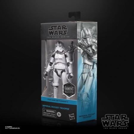 Star Wars The Black Series Gaming Greats Imperial Rocket Trooper Action Figure