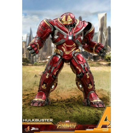 Hot Toys Avengers Infinity War Hulkbuster Power Pose 1/6 Escala Figura