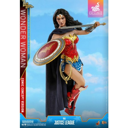 Hot Toys Wonder Woman Comic Concept 1/6 Scale Exclusive Figure