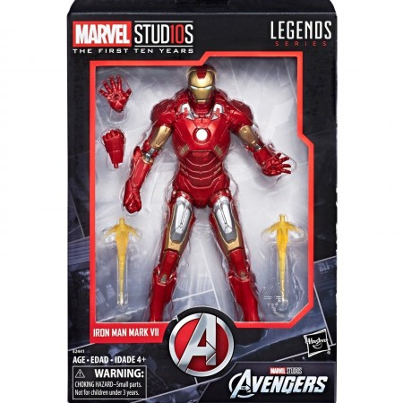Marvel Legends Cinematic Universe 10th Anniversary Iron Man