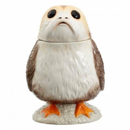 Star Wars The Last Jedi Talking Porg Cookie Jar