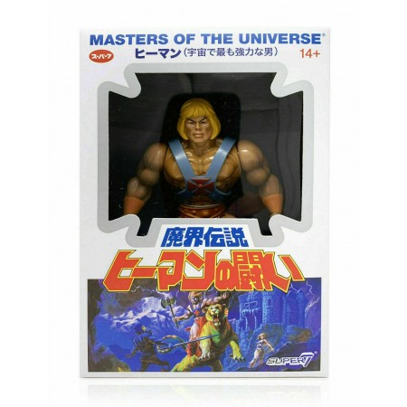 Super7 Masters Of The Universe Vintage He-Man Japanese Box Version