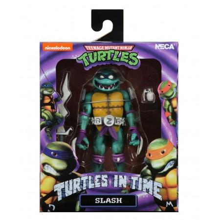 NECA Teenage Mutant Ninja Turtles In Time Slash Action Figure