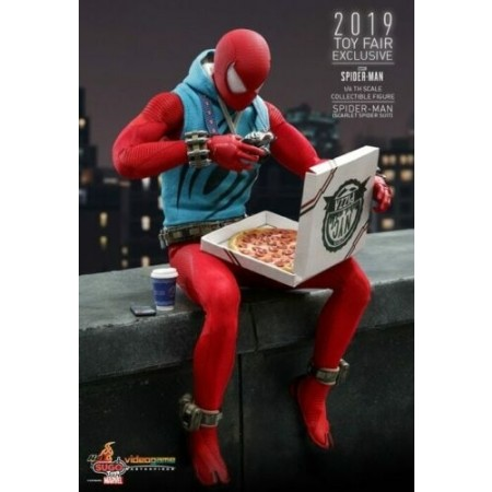Hot Toys Spider-Man Scarlet Spider VGM34 1/6 Scale Figure