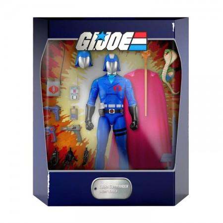 Super7 G.I. Joe Ultimates Cobra Commander Action Figure