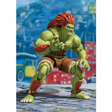 S.H Figuarts Street Fighter 2 Blanka Tamashii Web exclusiva