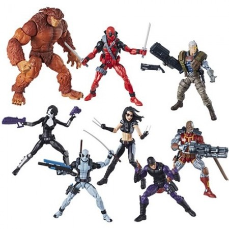 Marvel Legends Sasquatch onda conjunto de 7